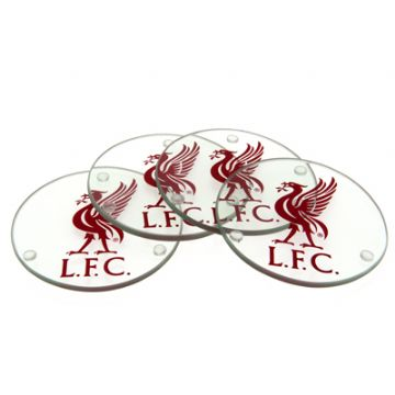 Liverpool FC Glass Coasters